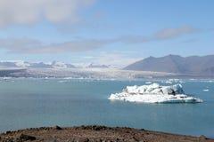 Jokulsarlon冰盐水湖。 图库摄影