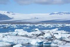 Jokulsarlon. Icebergs floating in Jokulsarlon lagoon, Iceland Royalty Free Stock Photo