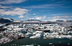 Jokulsarlon. Glacier lagoon in Iceland Royalty Free Stock Images