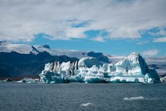 Jokulsarlon. Glacier lagoon in Iceland Stock Photos