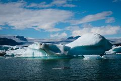 Jokulsarlon. Glacier lagoon in Iceland Stock Photo