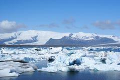 Jokulsarlon. Icebergs floating in Jokulsarlon lagoon, Iceland Royalty Free Stock Photos