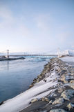 Jokulsarlon en Islande Photographie stock