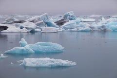Jokulsarlon glacial lagook, Iceland Stock Photography