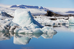 Jokulsarlon Glacial Lagoon, Iceland Royalty Free Stock Photo