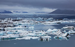 Jokulsarlon Glacial Lagoon, Iceland Royalty Free Stock Photos