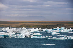 Jokulsarlon Glacial Lagoon Royalty Free Stock Photo