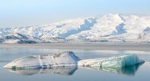 Jokulsarlon Glacial Lagoon Stock Photography