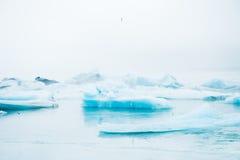 Jokulsarlon glacial lagoon, South Iceland Royalty Free Stock Image