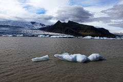 Jokulsarlon Glacial Lagoon Stock Image