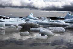 Jokulsarlon Glacial Lagoon Royalty Free Stock Photography