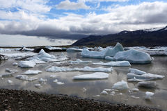 Jokulsarlon Glacial Lagoon Stock Photos