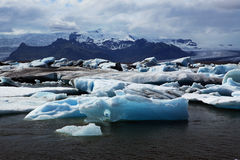 Jokulsarlon Glacial Lagoon Royalty Free Stock Photo