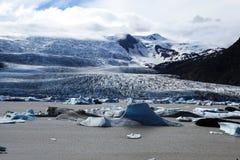 Jokulsarlon Glacial Lagoon Stock Images