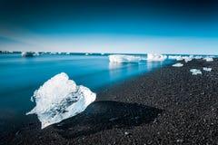 Jokulsarlon glaciar lagun Fotografering för Bildbyråer