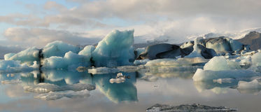 Jokulsarlon, glacier lagoon Royalty Free Stock Photography