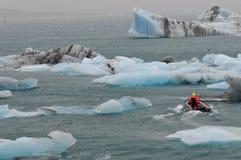 Jokulsarlon Glacier Lagoon Royalty Free Stock Images