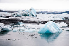 Jokulsarlon. Glacier lagoon, Iceland country Stock Photography