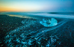 Jokulsarlon Glacier Lagoon, Iceland Stock Photos