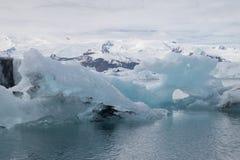 Jokulsarlon glacier lagoon, Iceland Royalty Free Stock Photography