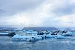 Jokulsarlon glacier lagoon in Iceland Stock Photography