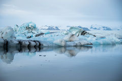 Jokulsarlon glacier lagoon in Iceland Stock Photography