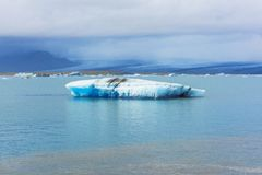 Jokulsarlon glacier lagoon in Iceland Royalty Free Stock Photo