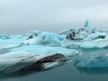 Jokulsarlon Glacier Lagoon. Icelandic Glacier Stock Photography