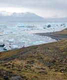 Jokulsarlon Glacier lagoon Stock Image