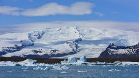 Jokulsarlon Glacier Lagoon in southeast Iceland Stock Photography