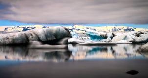 Jokulsarlon glacier lagoon Stock Images