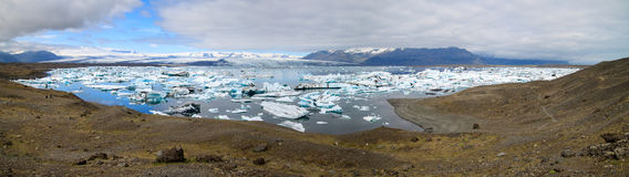 Jokulsarlon glacier lagoon Stock Photos