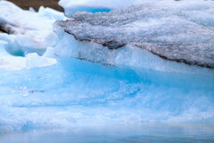 Jokulsarlon glacier lagoon Stock Photo