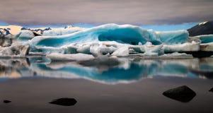 Jokulsarlon glacier lagoon Royalty Free Stock Image