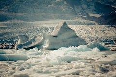 Jokulsarlon Glacier Lagoon in Vatnajokull National Park, Iceland Royalty Free Stock Photography
