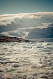 Jokulsarlon Glacier Lagoon in Vatnajokull National Park, Iceland Stock Photography