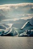 Jokulsarlon Glacier Lagoon in Vatnajokull National Park, Iceland Stock Image