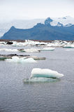 Jokulsarlon glacier lake Stock Photo