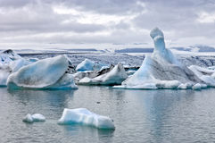 Jokulsarlon Glacier Lake Royalty Free Stock Images