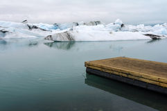 Jokulsarlon gleczeru laguna Zdjęcia Stock