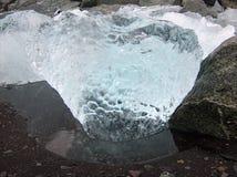 Jokulsarlon-Gletscher Eis Lizenzfreies Stockfoto