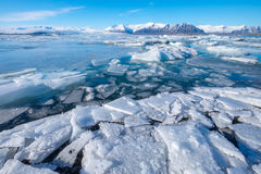 Jokulsarlon-Gletscher-Lagune - Südost-Island Stockfoto