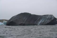 Jokulsarlon i Island Arkivfoto