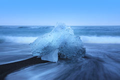 Jokulsarlon and the ice beach, Iceland Stock Photography