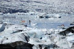 Jokulsarlon ice lagoon. Royalty Free Stock Image