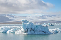 Jokulsarlon. Ice Lagoon during summer in Iceland stock images