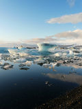 Jokulsarlon, iceberg lake, Iceland Royalty Free Stock Images