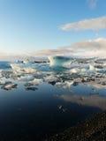 Jokulsarlon, iceberg lake, Iceland royalty free stock images