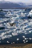 Jokulsarlon - icebergs - Iceland Stock Photography