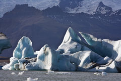 Jokulsarlon in Iceland Stock Images